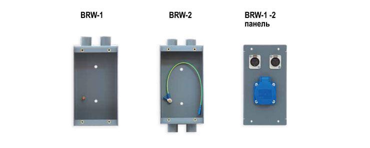 Блок состоит из монтажной коробки, на которой установлены один или два  патрубка под трубу ДУ 25, и панели с розетками и разъёмами. 1573be921d8